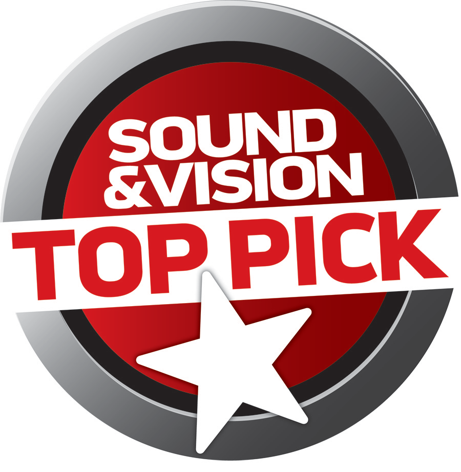 Klipsch R-10B Soundbar Sound and Vision Top Pick Award