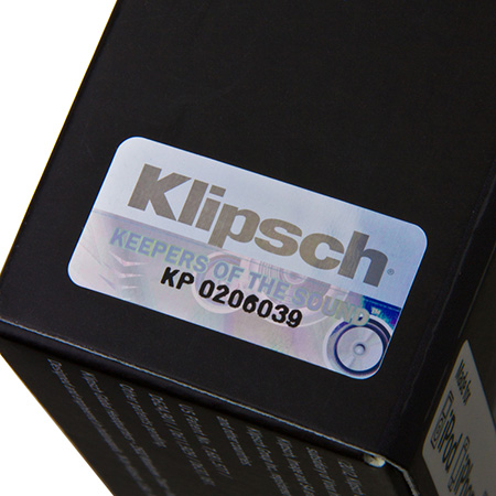 Klipsch Headphones Serial Number Hologram